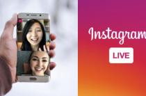Прямой эфир в Instagram на двоих