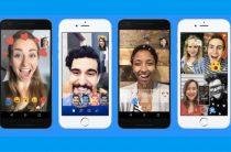 Новые опции в видео чатах мессенджера Facebook