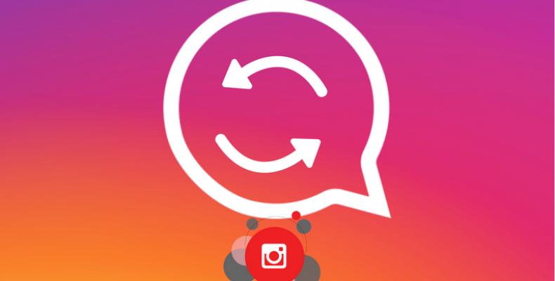 Кнопка перепост появится в Instagram