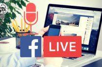 Как провести аудио прямой эфир в Facebook