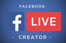 У Facebook новое приложения для ведения прямых эфиров Facebook Creator